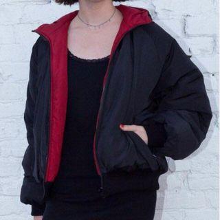 bnwt brandy melville faith reversible puffer jacket