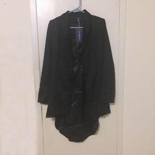 Long tailcoat blazer