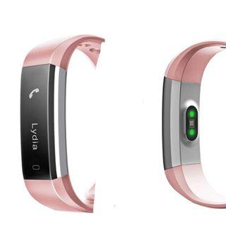 Fitness Tracker with HR ( pink and dark purple)