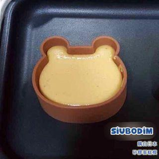 【烘焙產品】熊仔款 梳乎厘 Pancake模 (另有圓型款) Bruno recolte