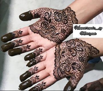 🚚 Modern henna Mehndi