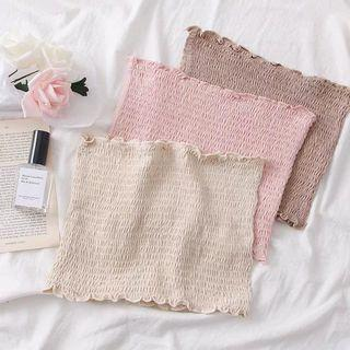 Entirely Smocked Tube Crop Top