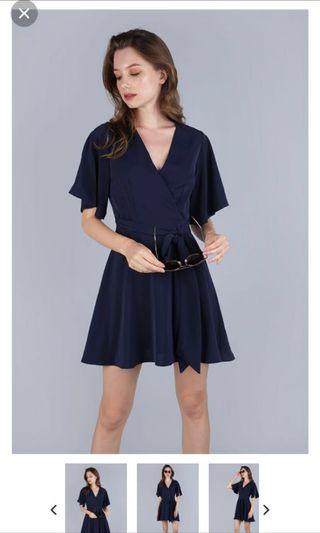 TTR Izabela Flare Sleeves Dress