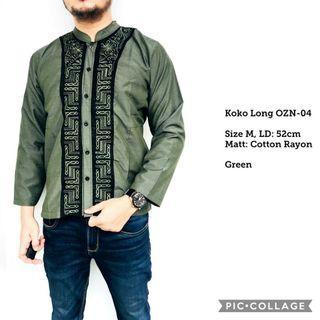 Baju Koko Panjang Long OZN04