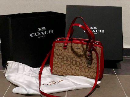 #CarouRaya Coach Handbag
