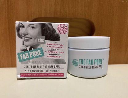 Soap & Glory Fab Pore 2-in-1 Facial Pore Purifying Mask & Peel 50ml(15分鐘收細毛孔+清潔面膜)💦✨全新📮包郵