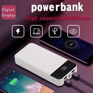 30000mAh 4 Output Simultaneous Charging PowerBank