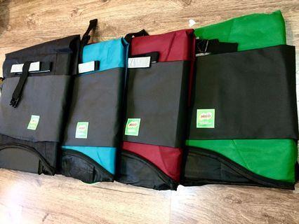 Beg Milo Aktif (Black/Blue/Maroon/Green)
