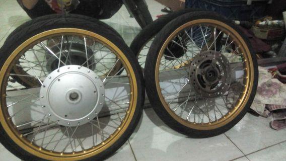 #BAPAU Velg Ring 17 for Yamaha 125