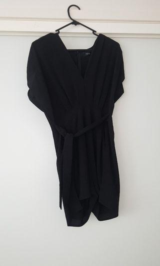 Asha Black universal playsuit size 8
