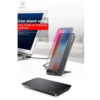 Baseus Double Coil Fast Charging Wireless Charging Pad