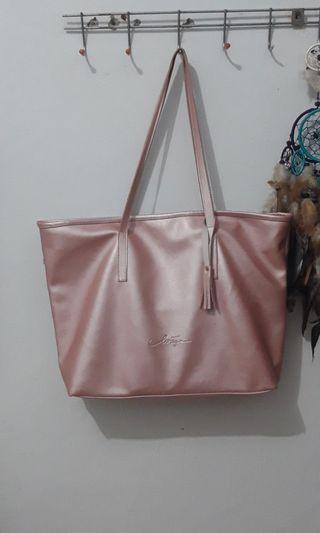 Tote Levaya Bag (Rose Gold) #Bapau