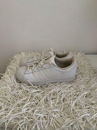 ADIDAS Originals Superstar sneakers in white