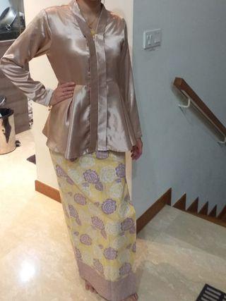 Baju Kurung batik morden peplum