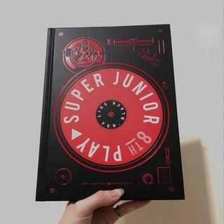 SUPER JUNIOR八輯 'PLAY' BLACK SUIT Ver. 空專