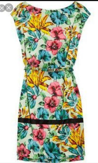 Marc Jacobs belted dress