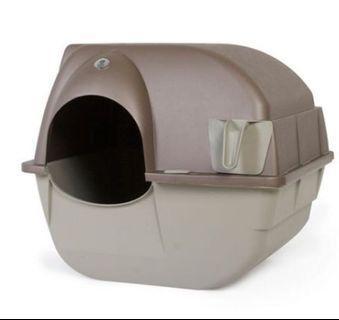 omega paw elite self cleaning roll 'n clean litter box 自動清潔貓厠所