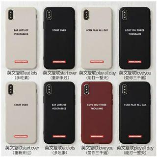 [PO] Marvels End Game Quotes Iphone,Oppo,Huawei,Samsung Case
