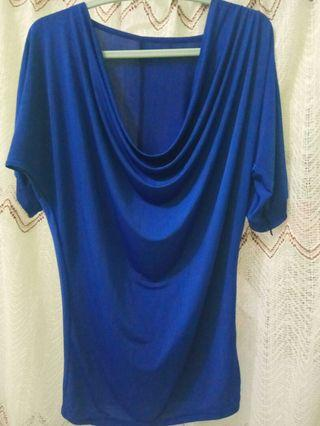 Dress/atasan biru