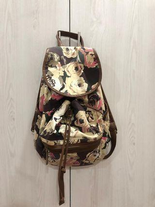Ruby & Kit Floral Drawstring Backpack