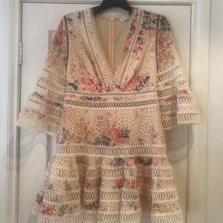 Zimmerman Leila flutter dress