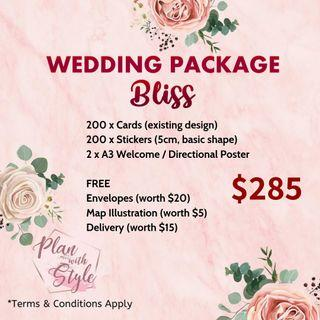 Wedding Package Bliss