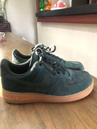 Nike Air Force 1 Army Green Sneakers