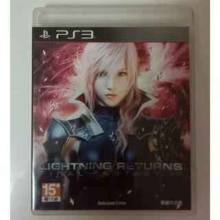 中文版 雷光歸來 太空戰士13-3 PS3 Lightning Returns Final Fantasy XIII