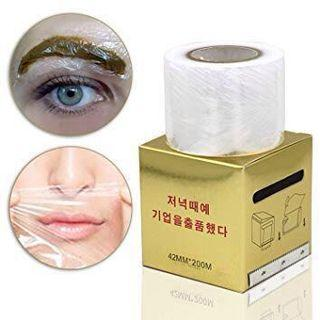 Eyebrows cling wrap for perm lashes