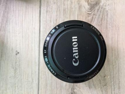 Canon EF 50mm f/1.8 II 佳能定焦鏡人像鏡