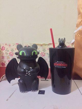 Tumbler Toothless CGV (KANAN)