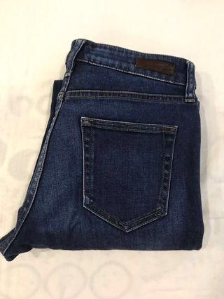 Uniqlo Regular Fit Bootcut High Rise Size 27