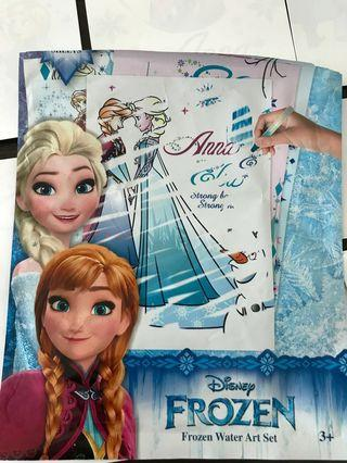 Disney frozen water art set - Mess free for kid