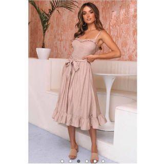 Fancy Mid pink dress