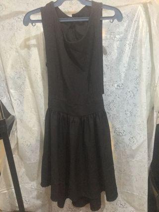 Cut-out Back Little Black Dress