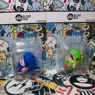Unbox Blind Box TTE Bobble Baby Dino Puzzle bobble 經典 泡泡龍 用色