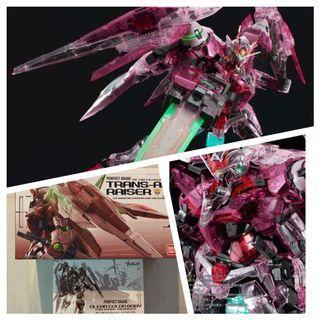 Gundam 00 Trans Am Raiser With Clear Parts Pg