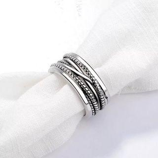 Women Wired Mesh Ring adjustable free size