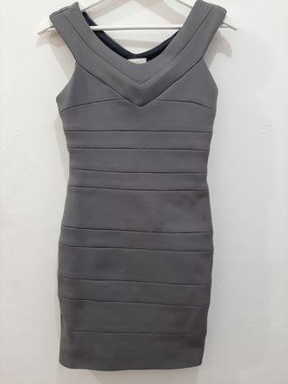 Bodycon Dress in Grey