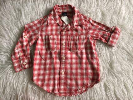 Baby GAP Flanel 18-24m NEW With Tag