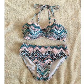 泳衣 bikini 兩件頭 一套4件