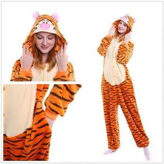 Tiger Onesie (Party Themed Outfit)