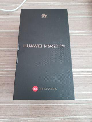 Brand New Huawei Mate 20 Pro with wireless charger