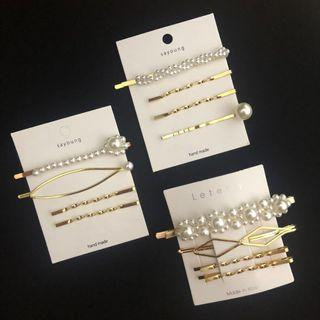 Korean hair clip / hair pin | FREE MAIL