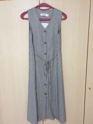 TEM striped maxi dress (size XS)