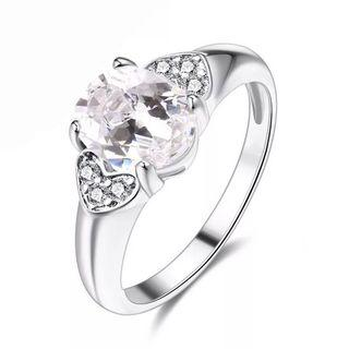 Women Diamond Ring Adjustable free size