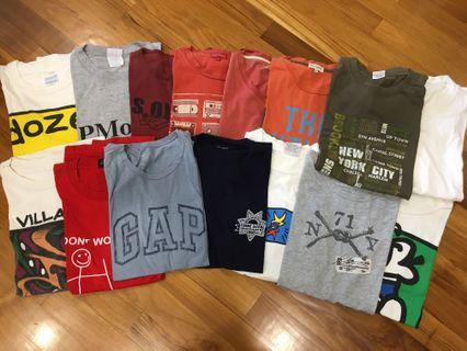 Cheap Men's T-shirts bundle - $1 each