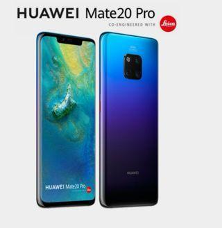 Huawei mate 20 pro green black twilight
