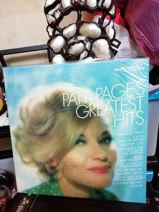 LP:Patti Page-Greatest Hits