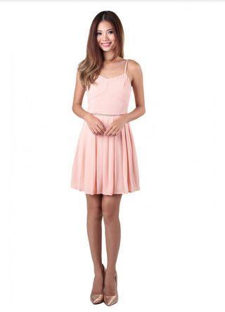 BNWT MGP Topez Dress in Peach Pink